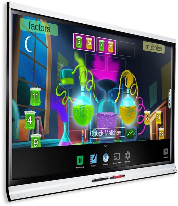 Interaktivna edukacija uz pametni ekran SMART 6000